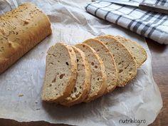 Pâine keto fără carbohidrați cu rozmarin - Powered by Low Carb, Bread, Recipes, Food, Diet, Meal, Food Recipes, Essen, Rezepte