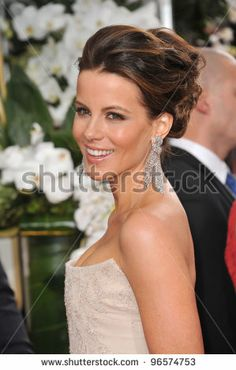 Kate Beckinsale at the 69th Golden Globe Awards at the Beverly Hilton Hotel. January 15, 2012 Beverly Hills, CA Picture: Paul Smith / Featu...