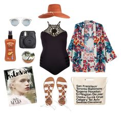 """Tropical"" by lachrodemode on Polyvore featuring mode, Urban Decay, Hawaiian Tropic, Eugenia Kim, River Island, Chicnova Fashion, Christian Dior, Billabong, stylishcurves et plussizeswimsuit"