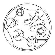 """We are all stories in the end"" in Gallifreyan"
