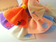 My Little Pony Cutie Mark Hair Bow Pack of 6