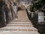 Climbing on top Lohagad Fort