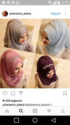 Şal hijab tying model – Best Of Likes Share Hijab Dress Party, Hijab Style Dress, Hijab Outfit, Wedding Hijab Styles, Hijab Wedding Dresses, Bridal Hijab, Hijab Bride, Muslim Hijab, Muslim Dress