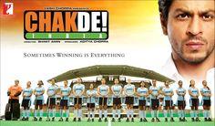 10 Best Movies of Shahrukh Khan - Chak De India Best Bollywood Movies, Bollywood News, Best Kid Movies, Good Movies, Movies Free, Best Inspirational Movies, The Great Debaters, Chak De India