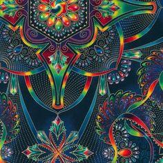 APTM-14270-201 JEWEL by Peggy Toole from Lumina - Robert Kaufman Fabrics