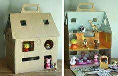 casa de muñecas copy Manualidades con los niños