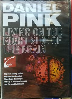 Daniel Pink: Living On The Right Side Of The Brain DVD (2009) | DVDs & Movies, DVDs & Blu-ray Discs | eBay!