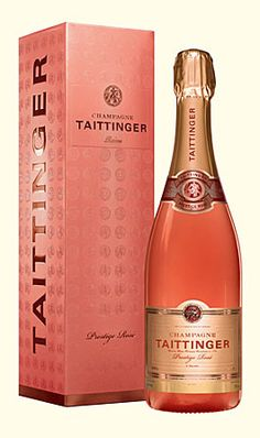 Champagne Taittinger Prestige Rosé Magnum - the first bottle of champagne I ever bought. The estate near Reims, France is worth a visit!