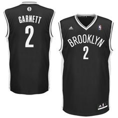 Mens Brooklyn Nets Kevin Garnett adidas Black Swingman Jersey $65 - wear as dress
