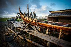Denmark, Kerteminde, Viking Museum, Ladby, Viking Ship