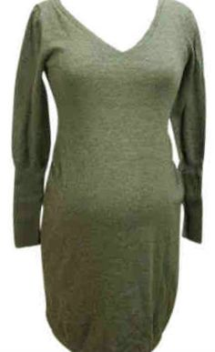 Gray GAP Maternity Sweater Dress for Fall/Winter (Gently Used - Size Small) - Motherhood Closet - Maternity Consignment