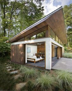 Great West Coast guest #house #architecture > compact and modern