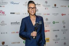 This year's event is being hosted by Britain's Gok Wan, a fashion icon who won the 2014 Outstanding Achievement in Television…