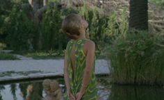 La Piscine / Green Dress