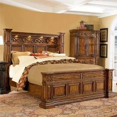 Bedroom On Pinterest King Beds Bedroom Sets And Canopy
