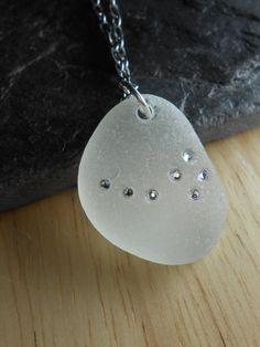 Sea Glass Constellation Jewelry  Ursa Minor by SeaFindDesigns, $40.00