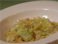 Penne Pasta with Cabbage