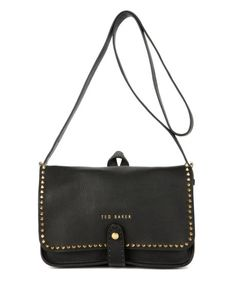 Studded cross body bag - Black | Bags | Ted Baker