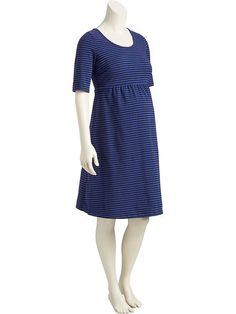 Maternity Scoop-Neck Dresses Product Image