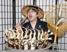 日本有数のアユの宝庫として知られる大田原の那珂川。郷田九段はアユの塩焼きを堪能する(Photo By スポニチ)