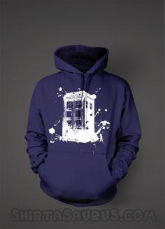 Bigger on the inside sweatshirt. I WANT!