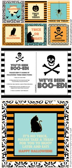 halloween printables - free ideas