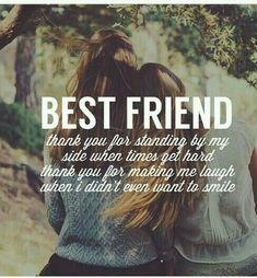 My best friend is the BEST!