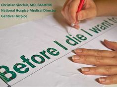Before I Die - Advance Care Planning