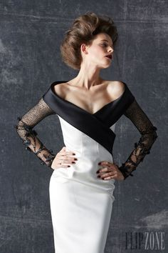 Georges Chakra - Couture - Fall-winter 2013-2014 - http://en.flip-zone.com/fashion/couture-1/fashion-houses/georges-chakra-3994