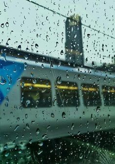 Eureka Skydeck, rain, and Metro trains sums up winter in Melbourne - August 2017 Photo: Melbourne Weather, 2017 Photos, Trains, Winter, Winter Time, Winter Fashion