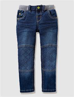 Tolle Jeans im Bike-Style.    #vertbaudet #Herbst #Winter #2015 #Kinderkleidung #Jungenmode