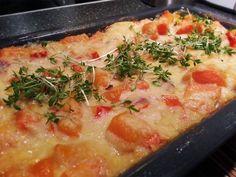 Die vegane Lasagne schmeckt direkt aus dem Ofen super lecker. Und einen Tag später schmeckt die Lasagne fast noch besser :)