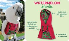 Check out the deal on Watermelon Hoodie at Avian Fashions