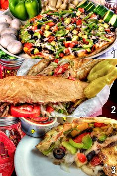 Happy #WorldVegetarianDay! Which Veggie option would you choose? 1, 2 or 3? #PizzaManDans *New* Add Beer or Wine to your next Delivery Order!