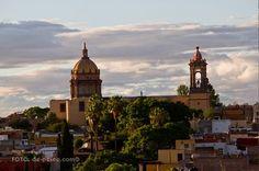 Templo y Covento Real de la Purisima Concepcion (Temple and Royal Convent of the Immaculate Conception), San Miguel de Allende, Guanajuato, Mexico. Mexican Ultra-Baroque Design and Construction from 1755-65.