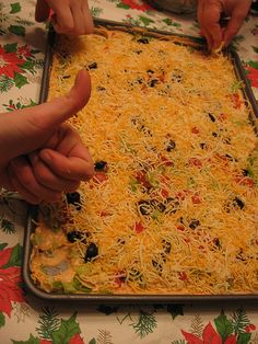 Six in the Suburbs: The Ultimate Superbowl Dip Bar