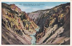 Grand+Canyon+of+the+Yellowstone+Yellowstone+by+postcardsofthepast,+$2.50