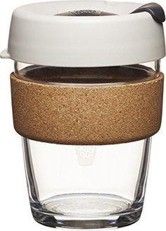 KeepCup Brew Glass Reusable Coffee Cup 12 oz/Medium Filter