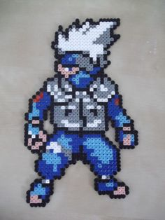 Kakashi Wall Deco by beadstoterabithia on Etsy, €4.00