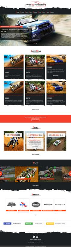 Agorest - Sport Management Restyling grafico Copyright Jellyfish Design 2015