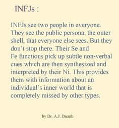 Accurate. #INFJ