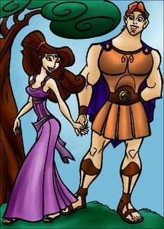 DC+-+Hercules+and+Megara+(color)+by+vanillacoke-disney.deviantart.com+on+@deviantART