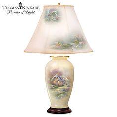 Thomas Kinkade Everett's Cottage Charm Lamp