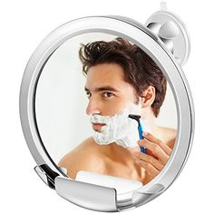Jerrybox Fogless Shower Mirror with Built-in Razor Holder, Fog-Free Bathroom Shaving Mirror with Powerful Locking Suction Cup, 360°Rotating Adjustable Arm for Easy Viewing, Guaranteed Not to Fog * Visit the image link more details. (This is an affiliate link and I receive a commission for the sales) #SkinCare
