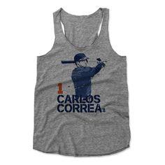 Carlos Correa Score B Houston Officially Licensed MLBPA Womens Tank Top S-XL