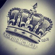 Tatuaje De Coronas Paz Pinterest Tattoos Tattoo Designs Y