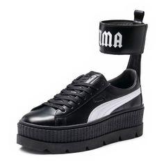 6f139799aa4c45 Women s Fenty Puma By Rihanna Ankle Strap Creeper Sneaker (€160) ❤ liked on