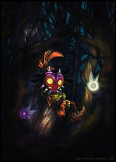 Majora's Mask Fan Art - Created by Ghorvega