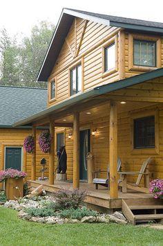 Log Cabin by Golden Eagle Log Hom