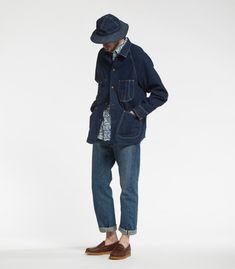 Norse - Orslow - this is a fun denim outfit with real character